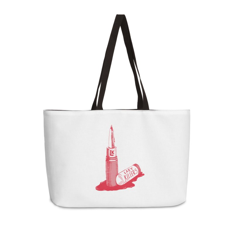 Ladykillers Logo Accessories Weekender Bag Bag by PEP's Artist Shop