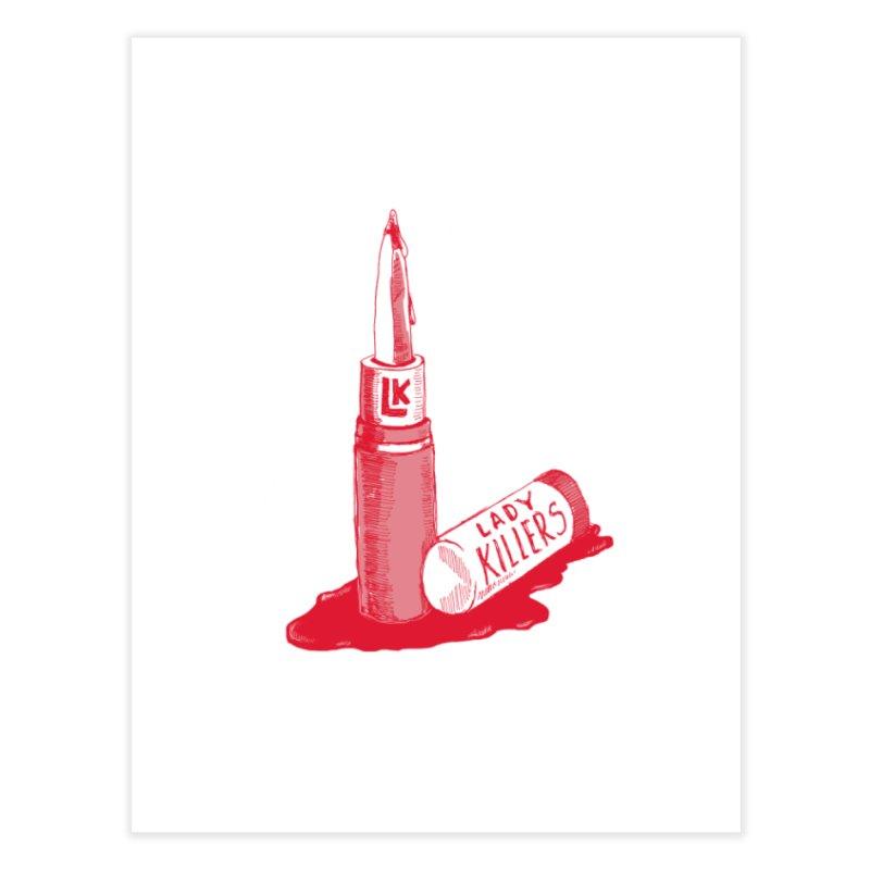 Ladykillers Logo Home Fine Art Print by PEP's Artist Shop
