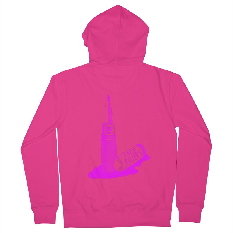 Ladykillers Logo (Princess Edit) Men's French Terry Zip-Up Hoody by PEP's Artist Shop