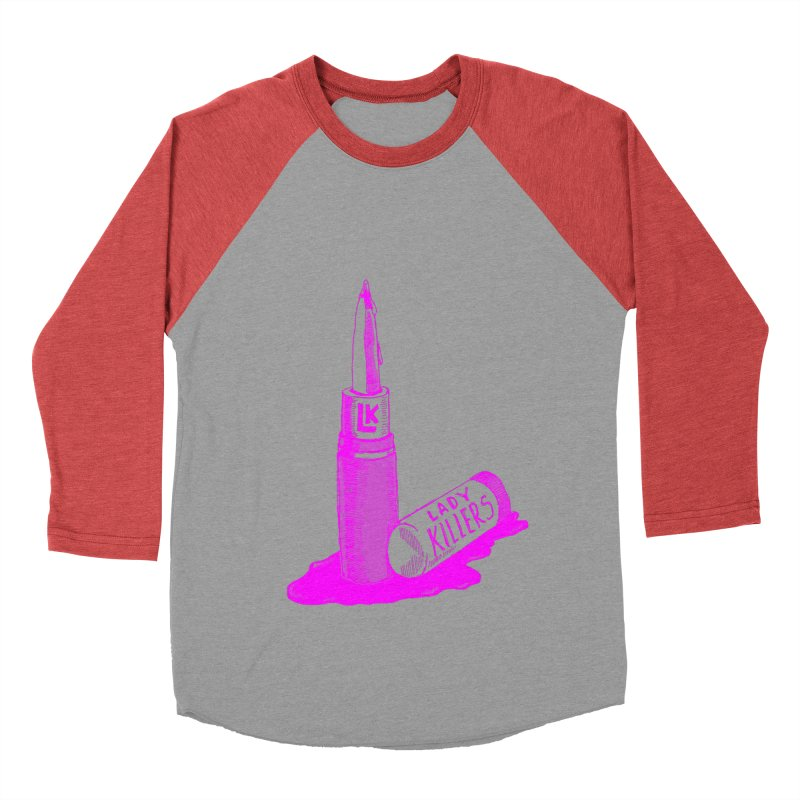 Ladykillers Logo (Princess Edit) Women's Baseball Triblend Longsleeve T-Shirt by PEP's Artist Shop