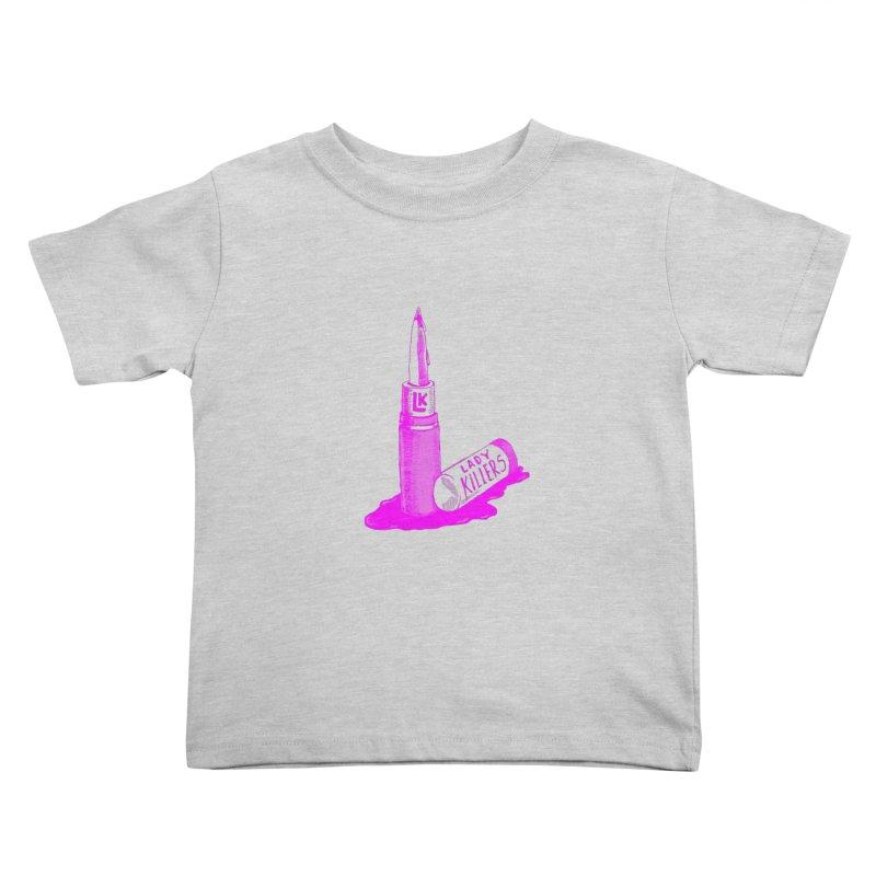 Ladykillers Logo (Princess Edit) Kids Toddler T-Shirt by PEP's Artist Shop