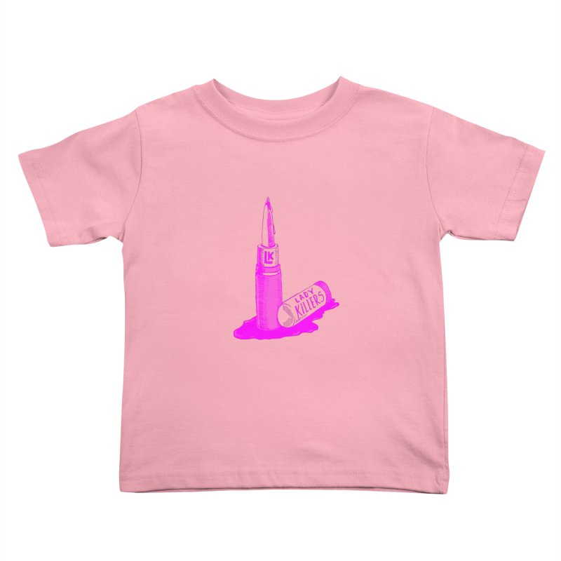 Ladykillers Logo (Princess Edit) Kids Toddler T-Shirt by PEP's Artist Shop