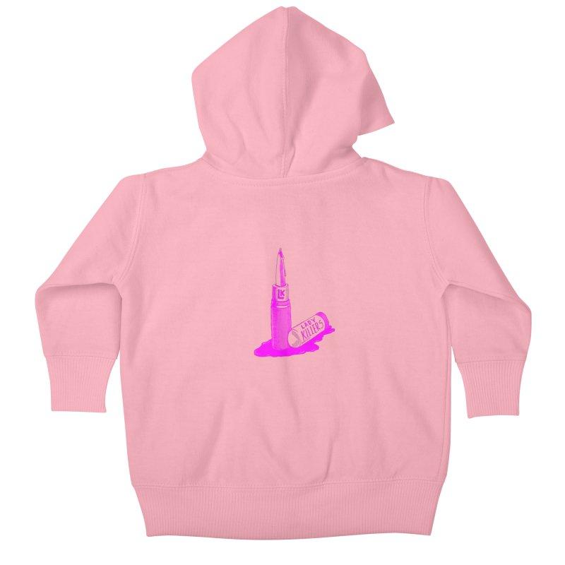 Ladykillers Logo (Princess Edit) Kids Baby Zip-Up Hoody by PEP's Artist Shop