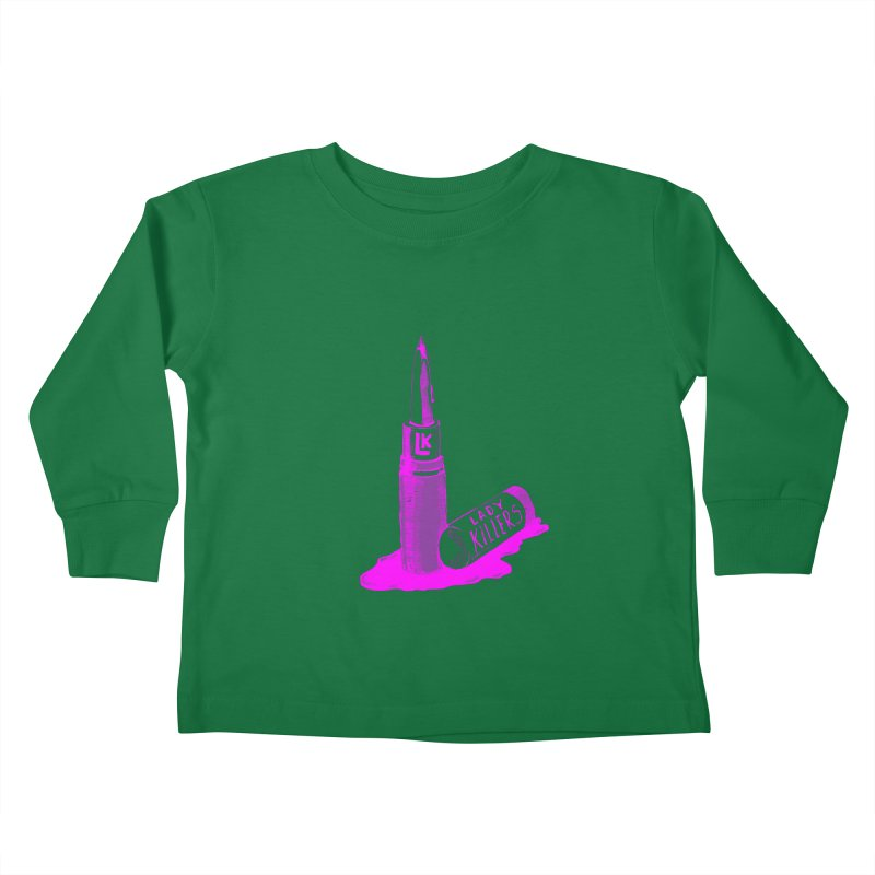 Ladykillers Logo (Princess Edit) Kids Toddler Longsleeve T-Shirt by PEP's Artist Shop