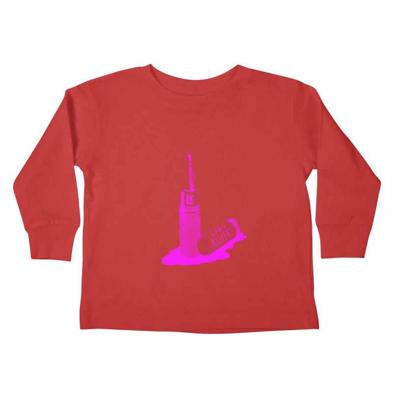 Ladykillers Logo (Princess Edit) Kids Toddler Longsleeve T-Shirt by PEP's Artist Shop