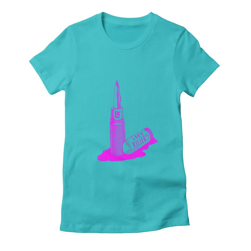 Ladykillers Logo (Princess Edit) Women's Fitted T-Shirt by PEP's Artist Shop