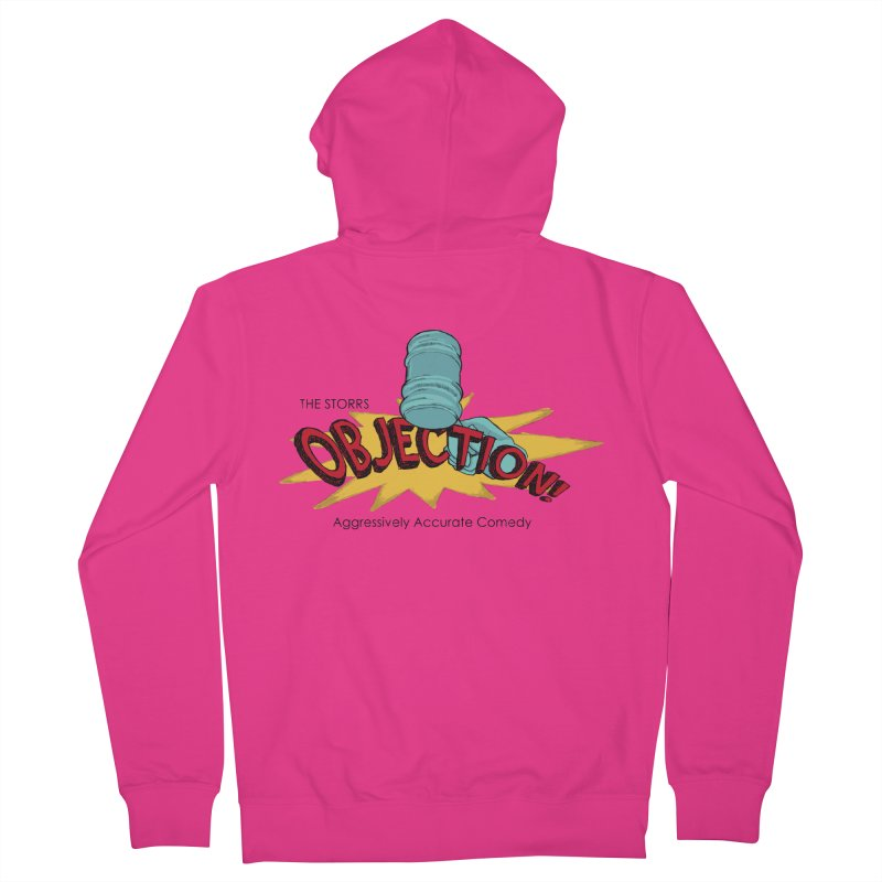 The Storrs Objection Men's Zip-Up Hoody by PEP's Artist Shop