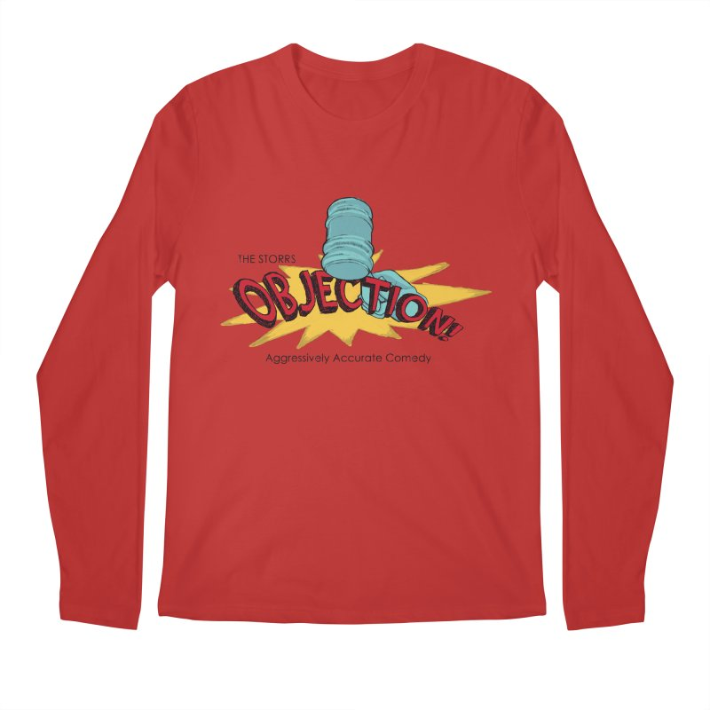 The Storrs Objection Men's Longsleeve T-Shirt by PEP's Artist Shop