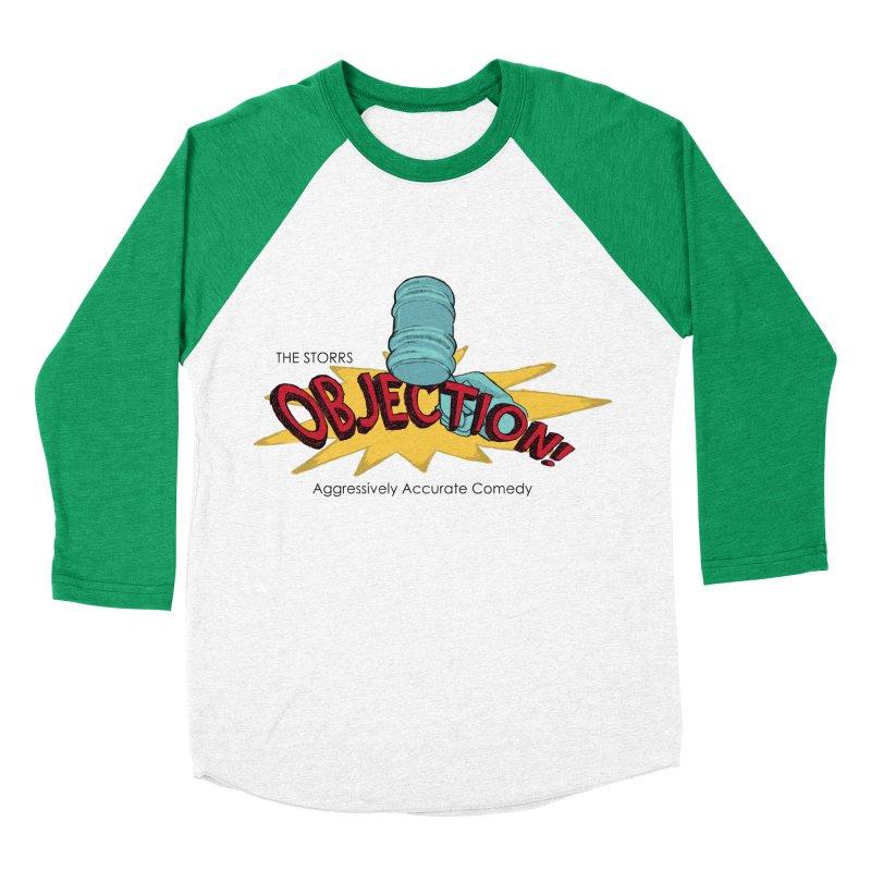 The Storrs Objection Women's Baseball Triblend T-Shirt by PEP's Artist Shop