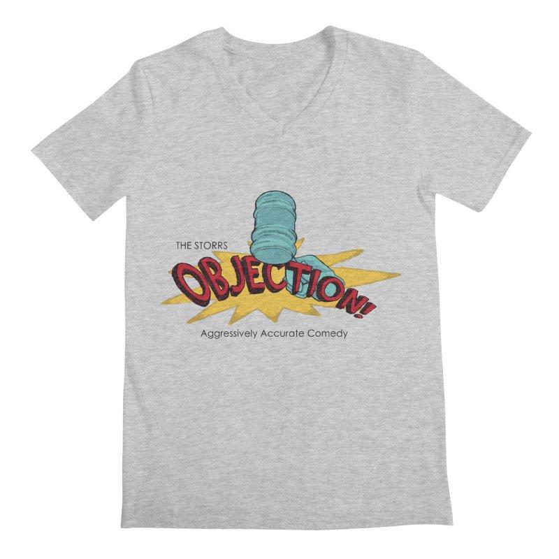The Storrs Objection Men's V-Neck by PEP's Artist Shop