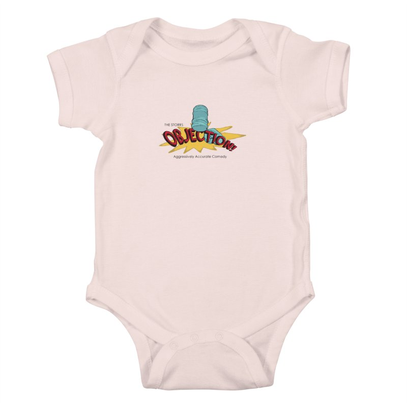 The Storrs Objection Kids Baby Bodysuit by PEP's Artist Shop