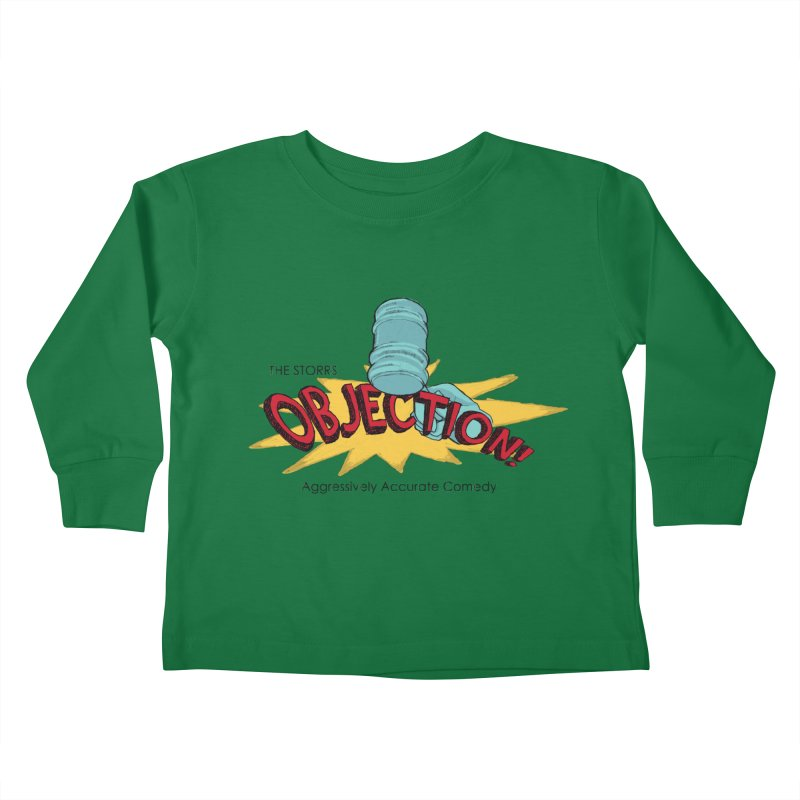 The Storrs Objection Kids Toddler Longsleeve T-Shirt by PEP's Artist Shop