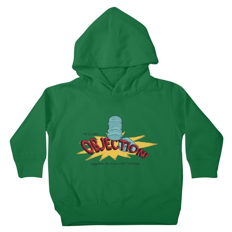 The Storrs Objection Kids Toddler Pullover Hoody by PEP's Artist Shop