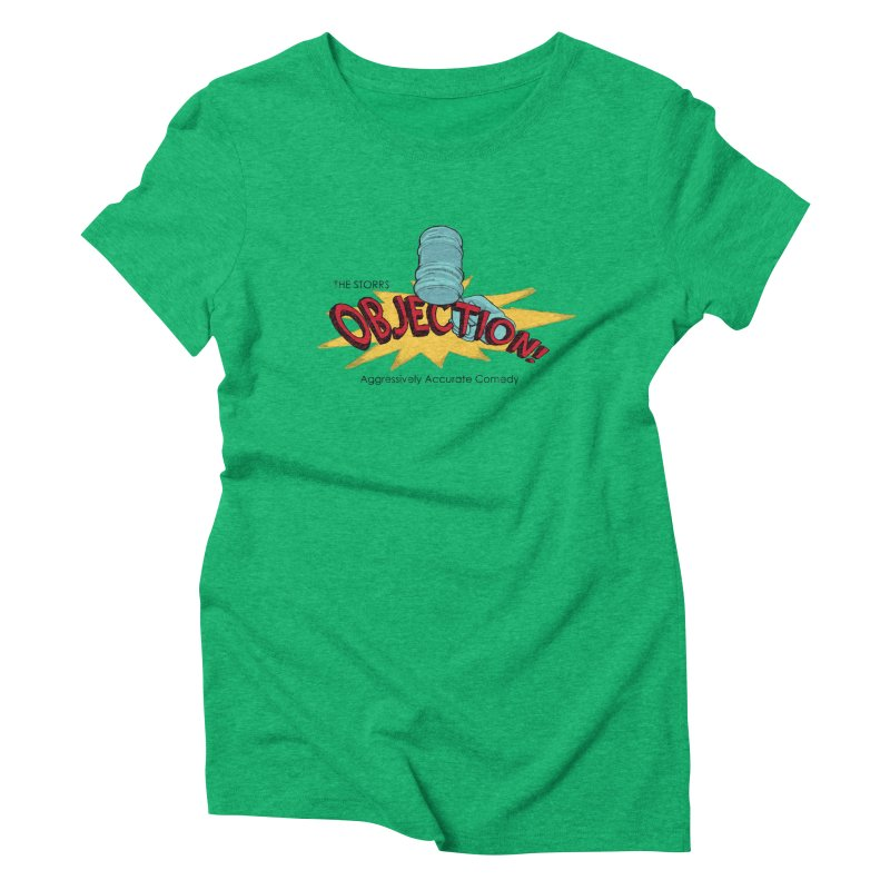 The Storrs Objection Women's Triblend T-shirt by PEP's Artist Shop