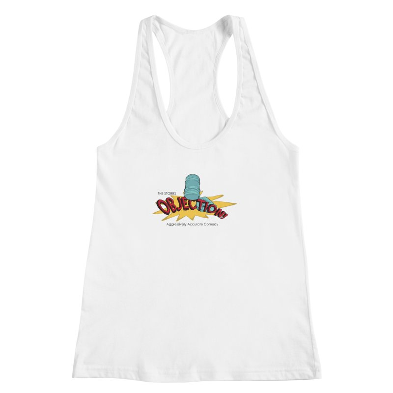 The Storrs Objection Women's Racerback Tank by PEP's Artist Shop