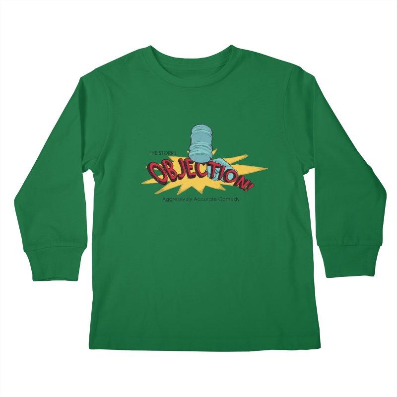 The Storrs Objection Kids Longsleeve T-Shirt by PEP's Artist Shop