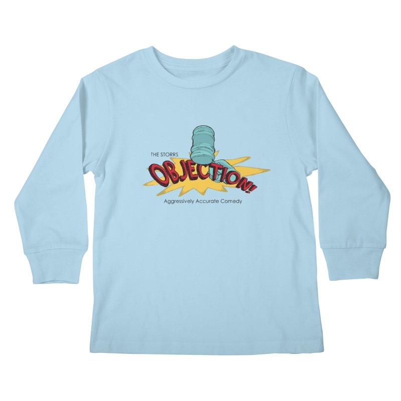 The Storrs Objection Kids Longsleeve T-Shirt by PEP's Artist Shop