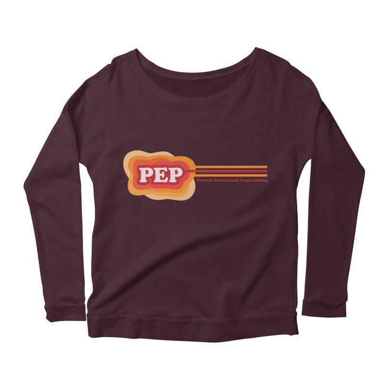Phoenix Educational Programming  Women's Longsleeve Scoopneck  by PEP's Artist Shop