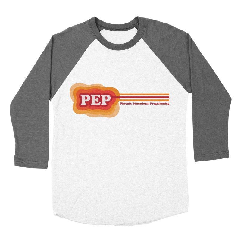 Phoenix Educational Programming  Men's Baseball Triblend T-Shirt by PEP's Artist Shop