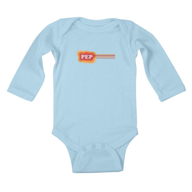 Phoenix Educational Programming  Kids Baby Longsleeve Bodysuit by PEP's Artist Shop