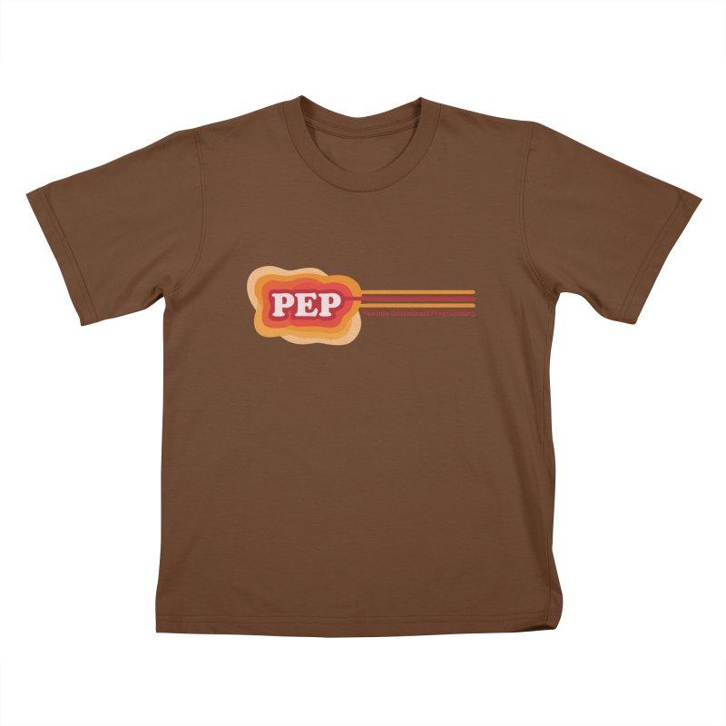 Phoenix Educational Programming  Kids T-Shirt by PEP's Artist Shop