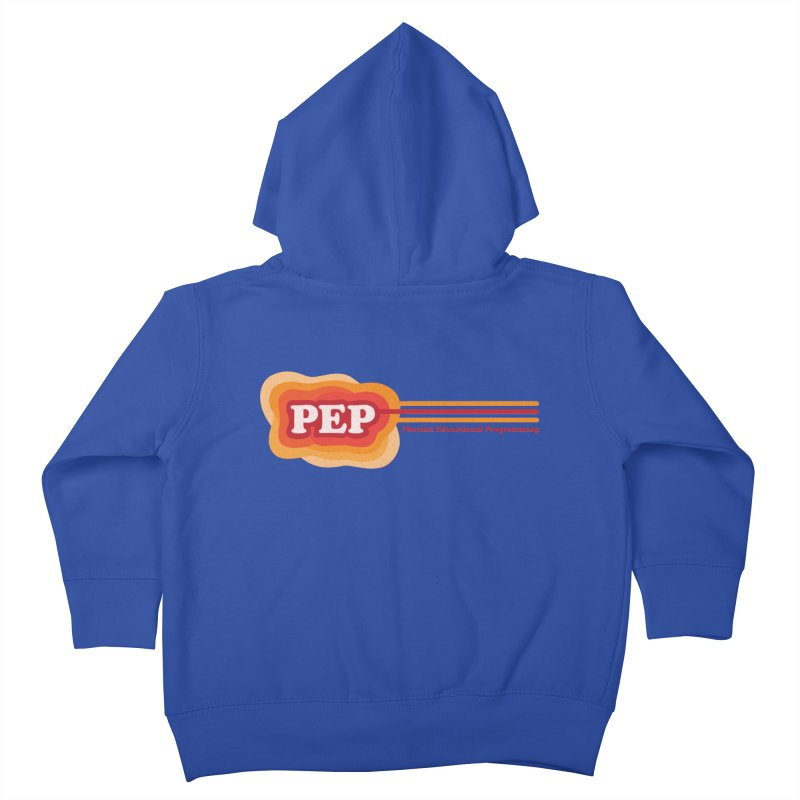 Phoenix Educational Programming  Kids Toddler Zip-Up Hoody by PEP's Artist Shop