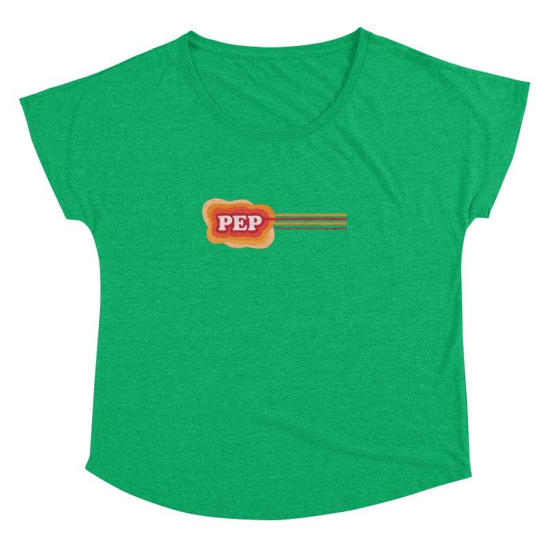 Phoenix Educational Programming  Women's Dolman Scoop Neck by PEP's Artist Shop