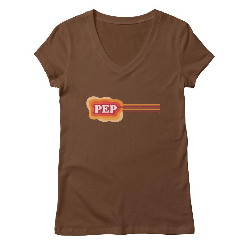 Phoenix Educational Programming  Women's Regular V-Neck by PEP's Artist Shop