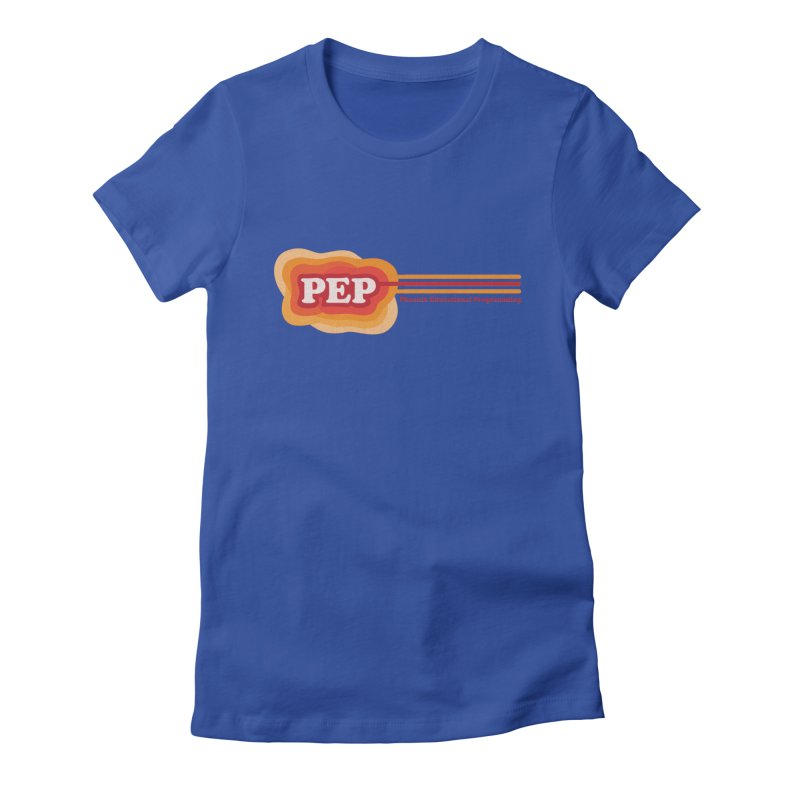 Phoenix Educational Programming  Women's Fitted T-Shirt by PEP's Artist Shop
