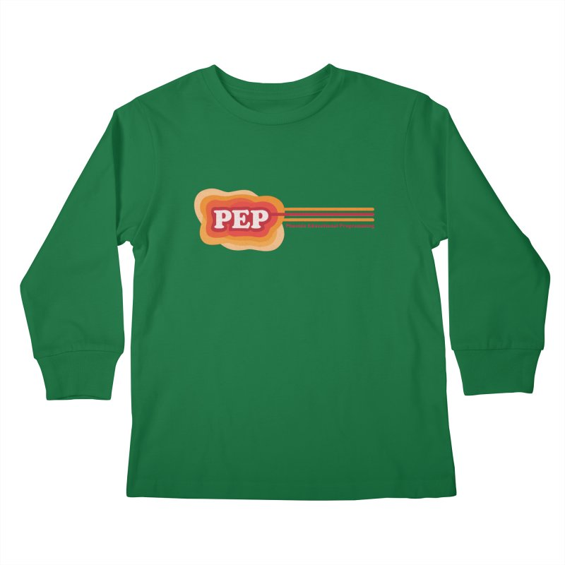 Phoenix Educational Programming  Kids Longsleeve T-Shirt by PEP's Artist Shop