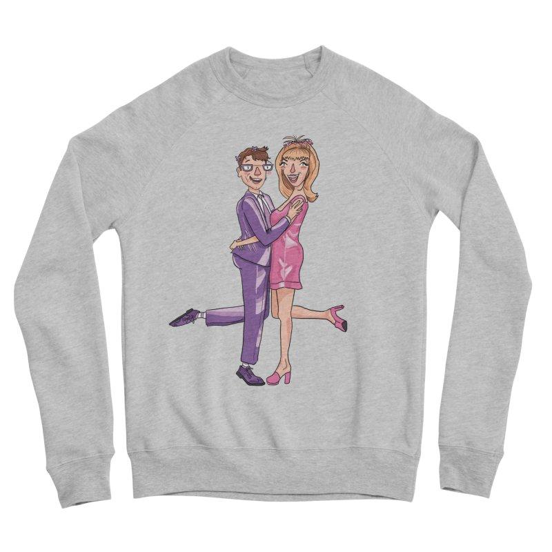 PEP Matt and Hattie Men's Sponge Fleece Sweatshirt by PEP's Artist Shop