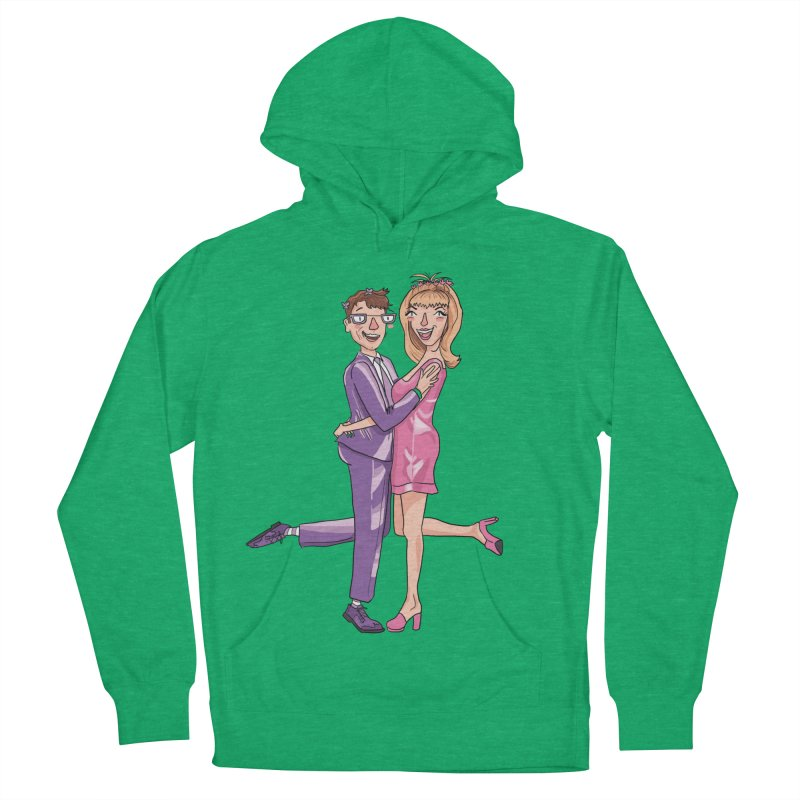 PEP Matt and Hattie Women's French Terry Pullover Hoody by PEP's Artist Shop
