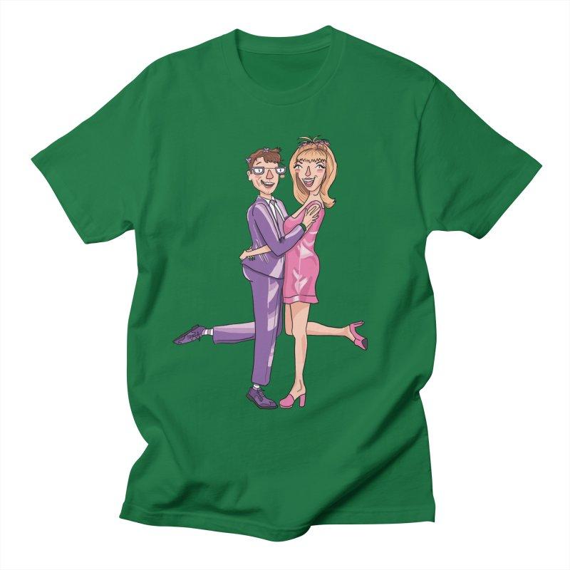 PEP Matt and Hattie Women's Regular Unisex T-Shirt by PEP's Artist Shop