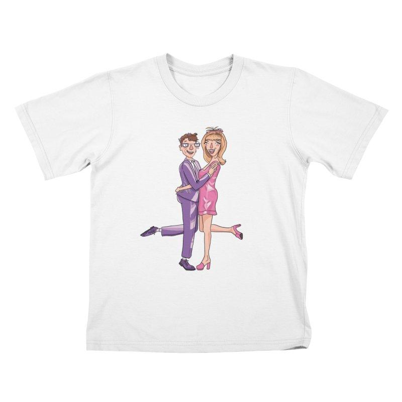 PEP Matt and Hattie Kids T-Shirt by PEP's Artist Shop