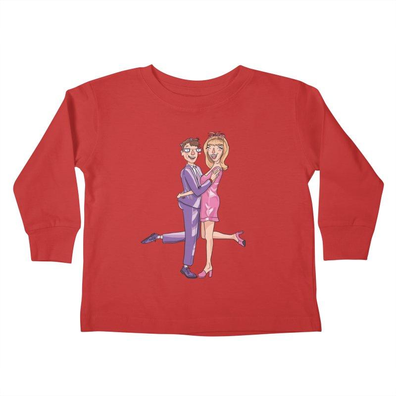 PEP Matt and Hattie Kids Toddler Longsleeve T-Shirt by PEP's Artist Shop