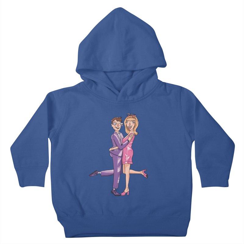 PEP Matt and Hattie Kids Toddler Pullover Hoody by PEP's Artist Shop