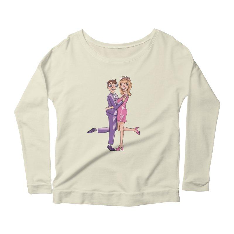 PEP Matt and Hattie Women's Scoop Neck Longsleeve T-Shirt by PEP's Artist Shop