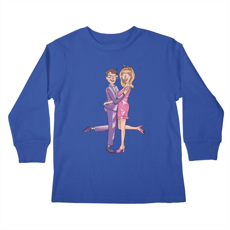PEP Matt and Hattie Kids Longsleeve T-Shirt by PEP's Artist Shop