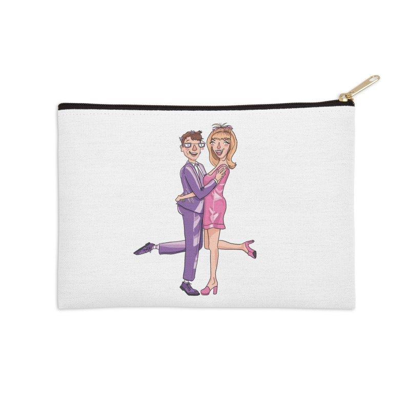 PEP Matt and Hattie Accessories Zip Pouch by PEP's Artist Shop