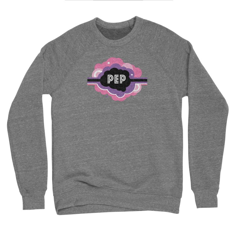 PEP Logo - Round Retro Women's Sponge Fleece Sweatshirt by PEP's Artist Shop