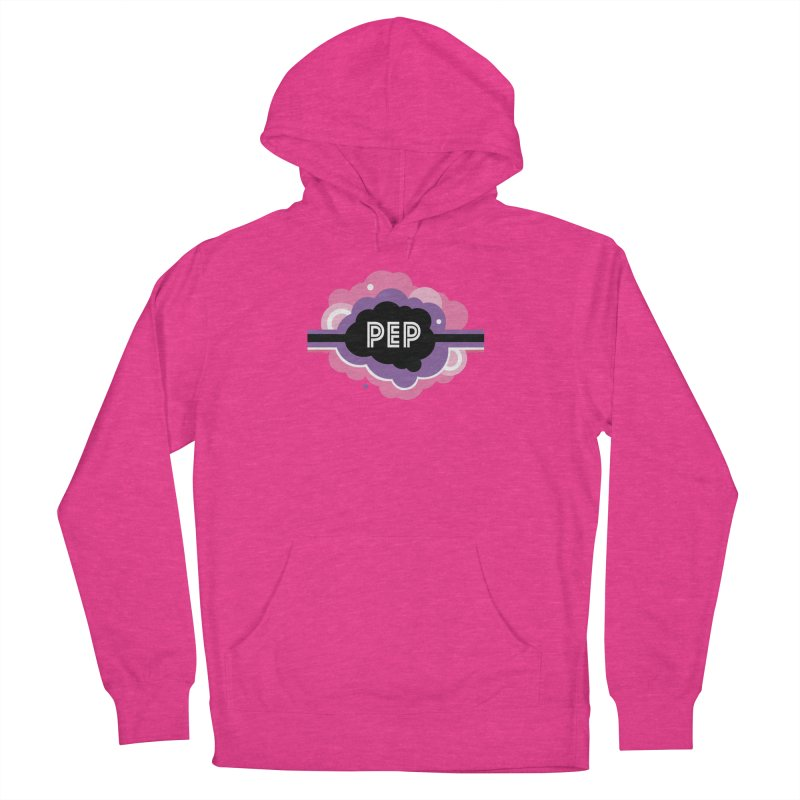 PEP Logo - Round Retro Women's French Terry Pullover Hoody by PEP's Artist Shop