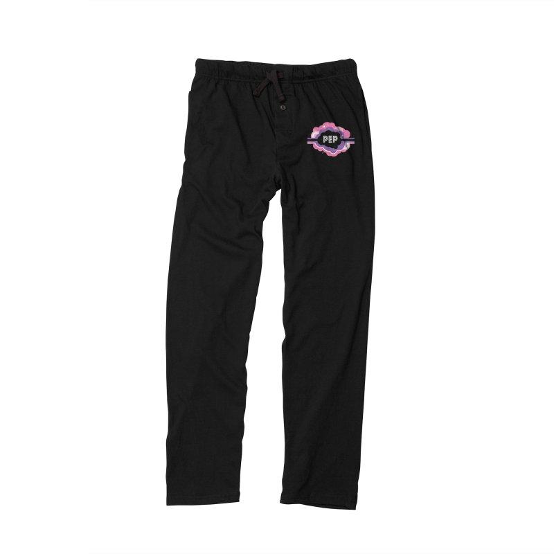 PEP Logo - Round Retro Men's Lounge Pants by PEP's Artist Shop