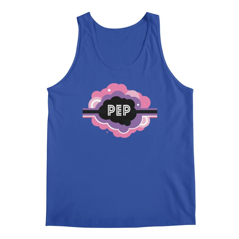 PEP Logo - Round Retro Men's Regular Tank by PEP's Artist Shop
