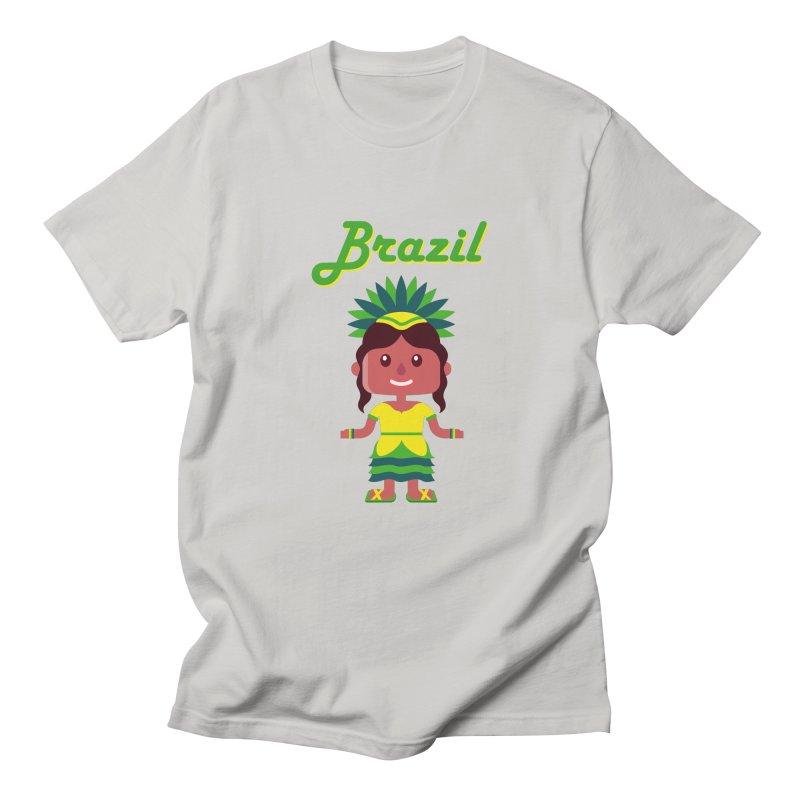 Brazil Men's T-shirt by PIPUS