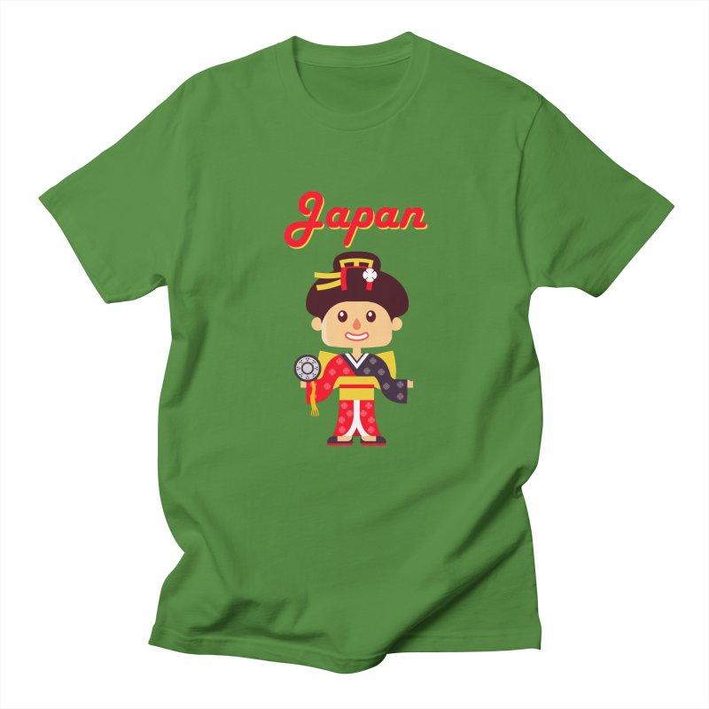 Japan Men's T-Shirt by PIPUS