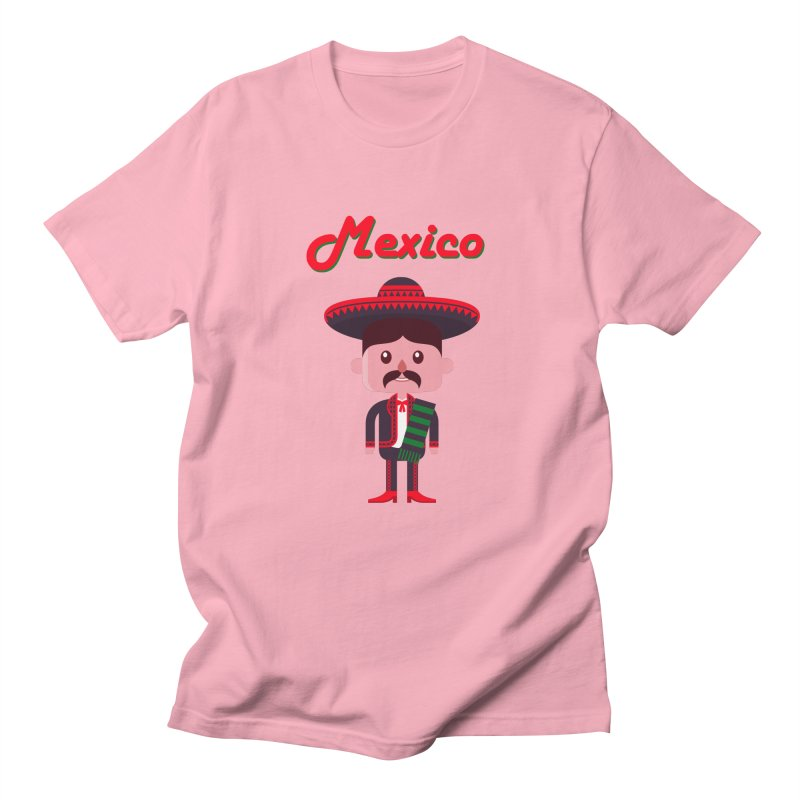 Mexico Men's T-shirt by PIPUS