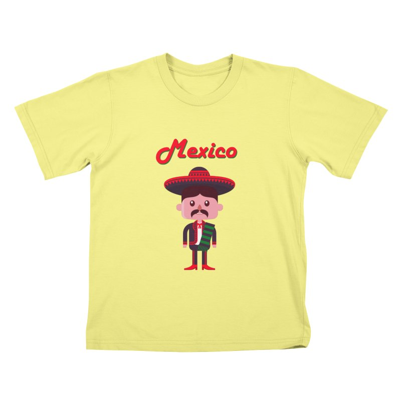 Mexico Kids T-shirt by PIPUS