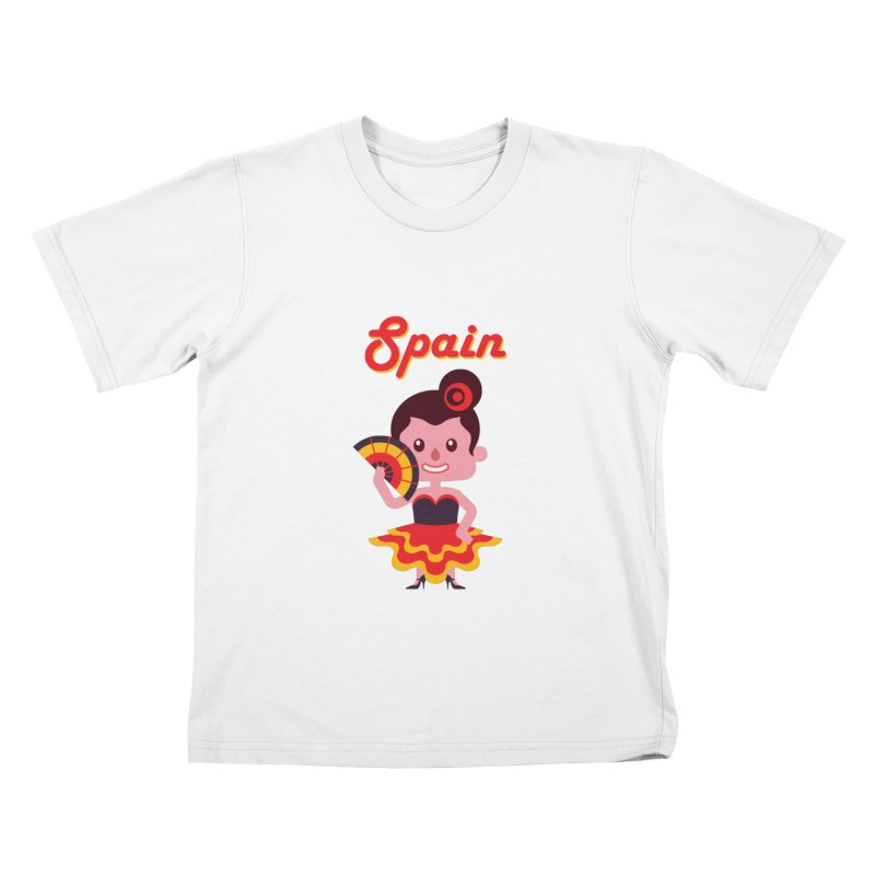 Spain Kids T-shirt by PIPUS