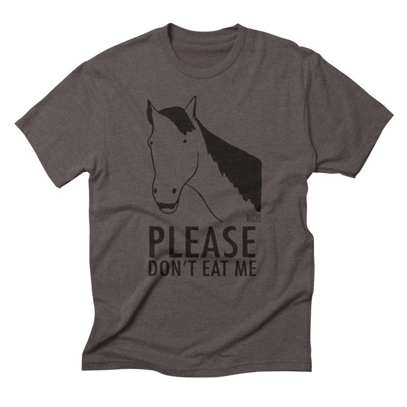 Horse Meat Men's Triblend T-Shirt by PLOY by NomadSlim