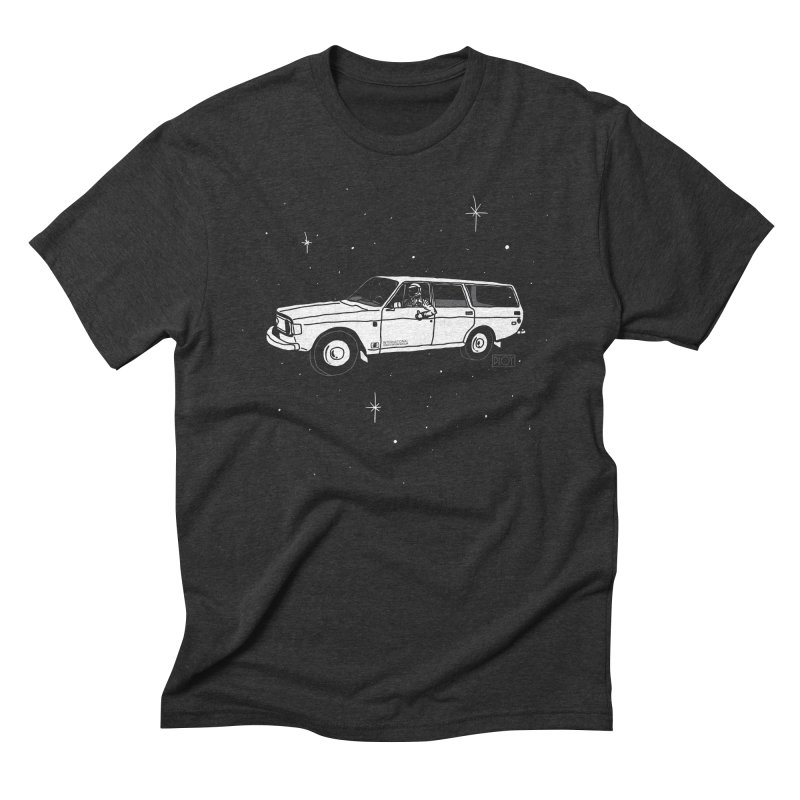 International Space Station Wagon Men's Triblend T-Shirt by PLOY by NomadSlim